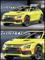 三菱 e–Evolution コンセプト2019 ベストカー誌