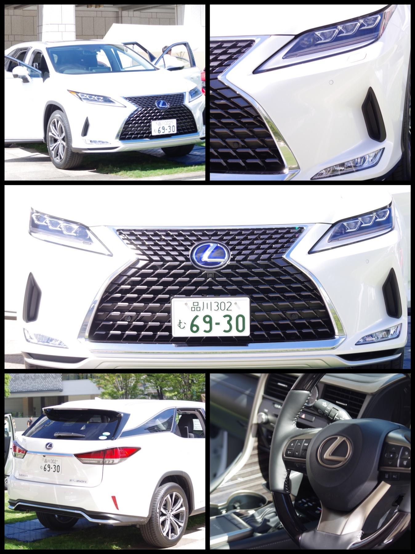 横浜SUVフェア2019 レクサス新型RX