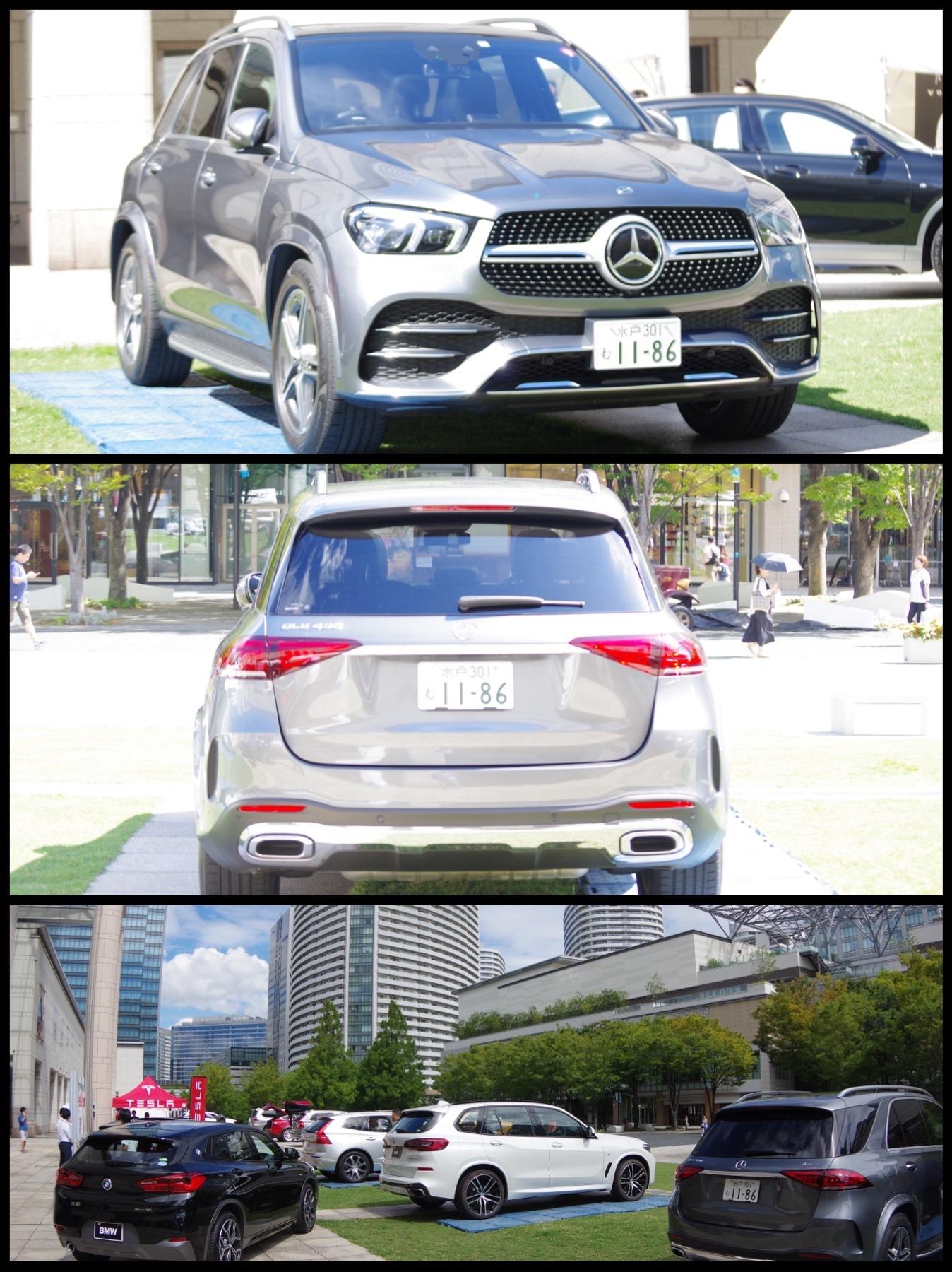 横浜SUVフェア2019 メルセデス GLE 400