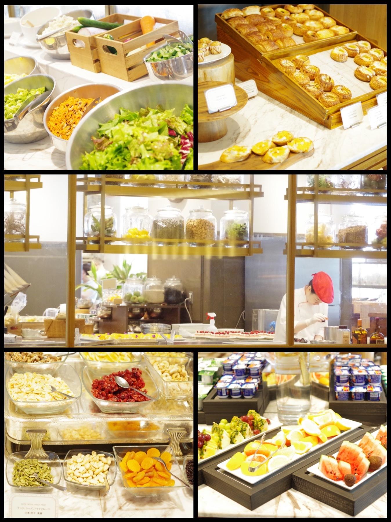 横浜インターコンチネンタルグランドホテル オーシャンテラス 朝食ビュッフェ