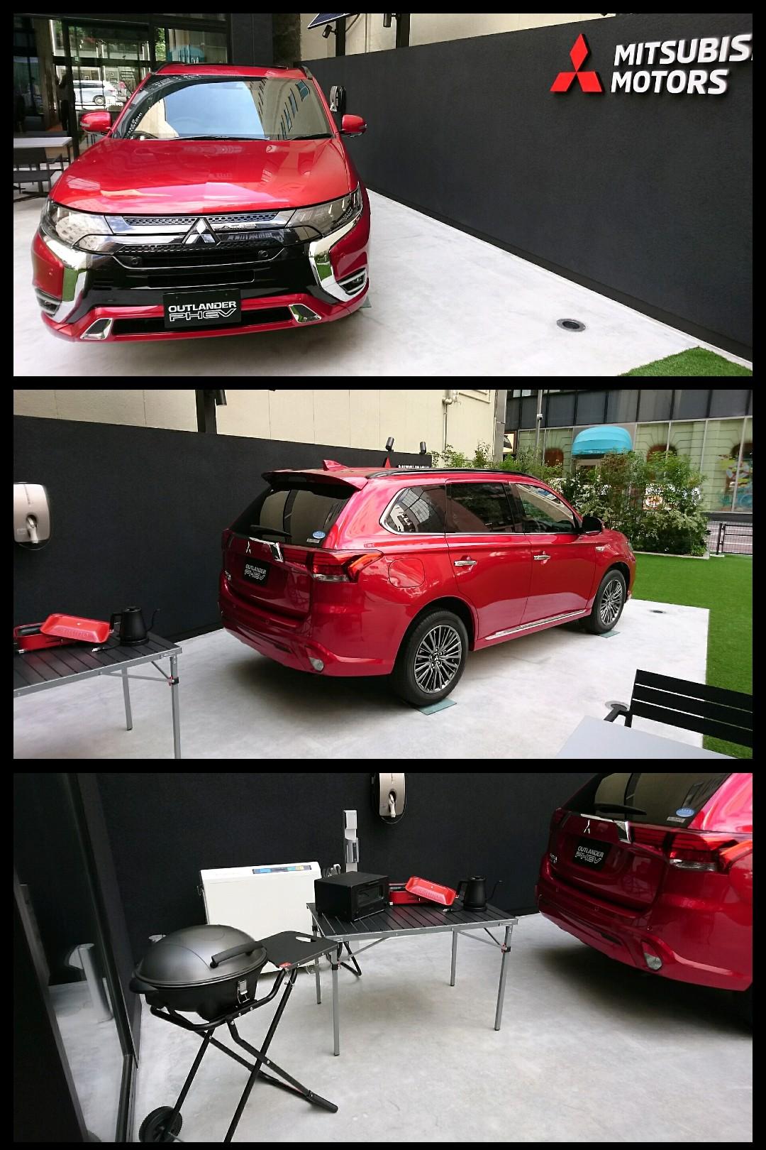 三菱アウトランダーPHEV 新型2019 レッドダイアモンド