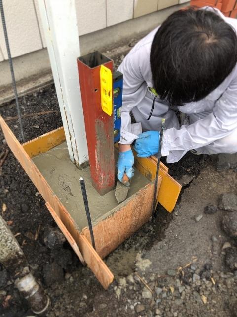 茨城トイレ基礎工事 (1)