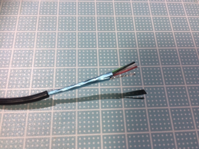 USBコード修理 (9)