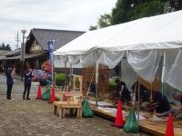 木彫刻キャンプ