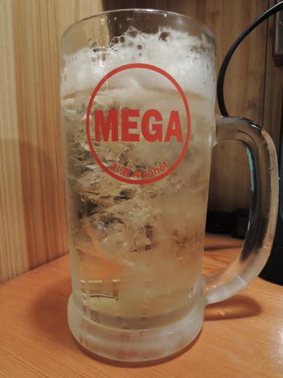 メガハイボール(ジムビーム)(321円)