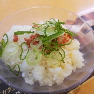 かっぱ寿司 海老塩ラーメン 追いシャリ