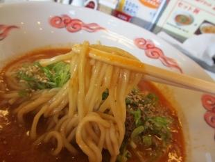 かなみ屋松崎 初代担々麺 麺