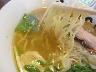幸 アゴ塩麺 麺スープ