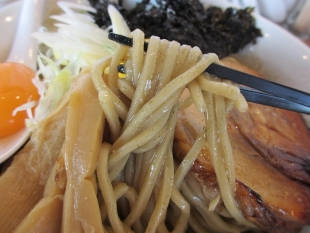 真玄 煮干和え麺 麺