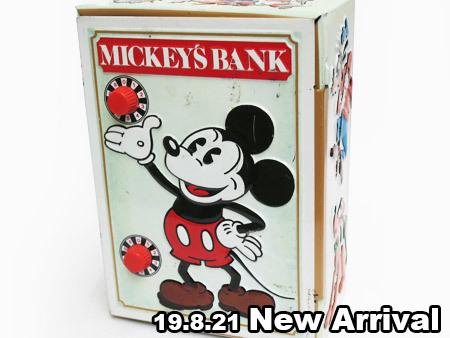 1978年製ミッキーバンク(MICKEY'S BANK)