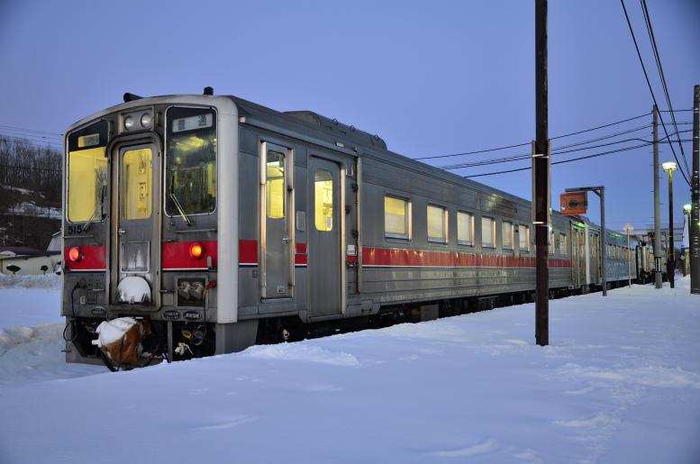 2/25-28  ひがし北海道フリーパスで冬の鉄道旅 その5(網走→釧路) 釧網本線乗り通し