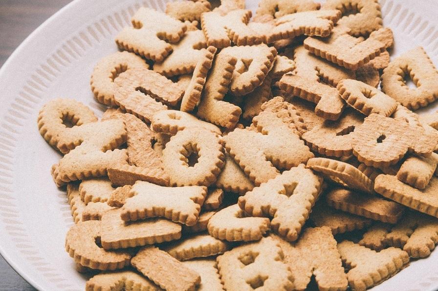 クッキー山盛り