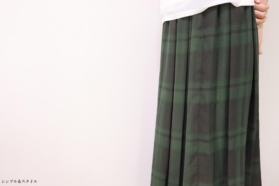 010719緑スカート1