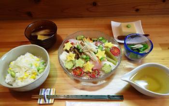 10七夕昼食