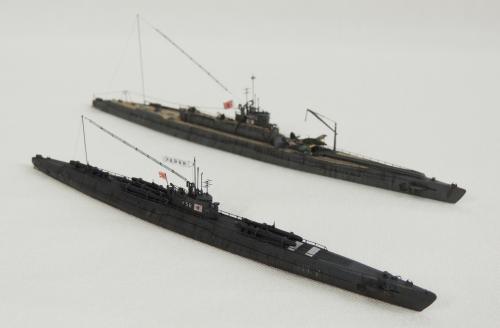伊-58、伊-402 DSCN5667-1◆模型製作工房 聖蹟