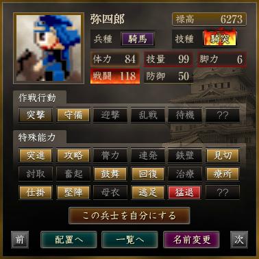 <騎馬>弥四郎 - コピー