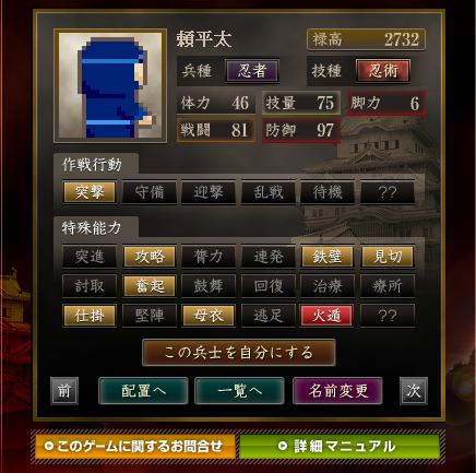 <忍者> 頼平太