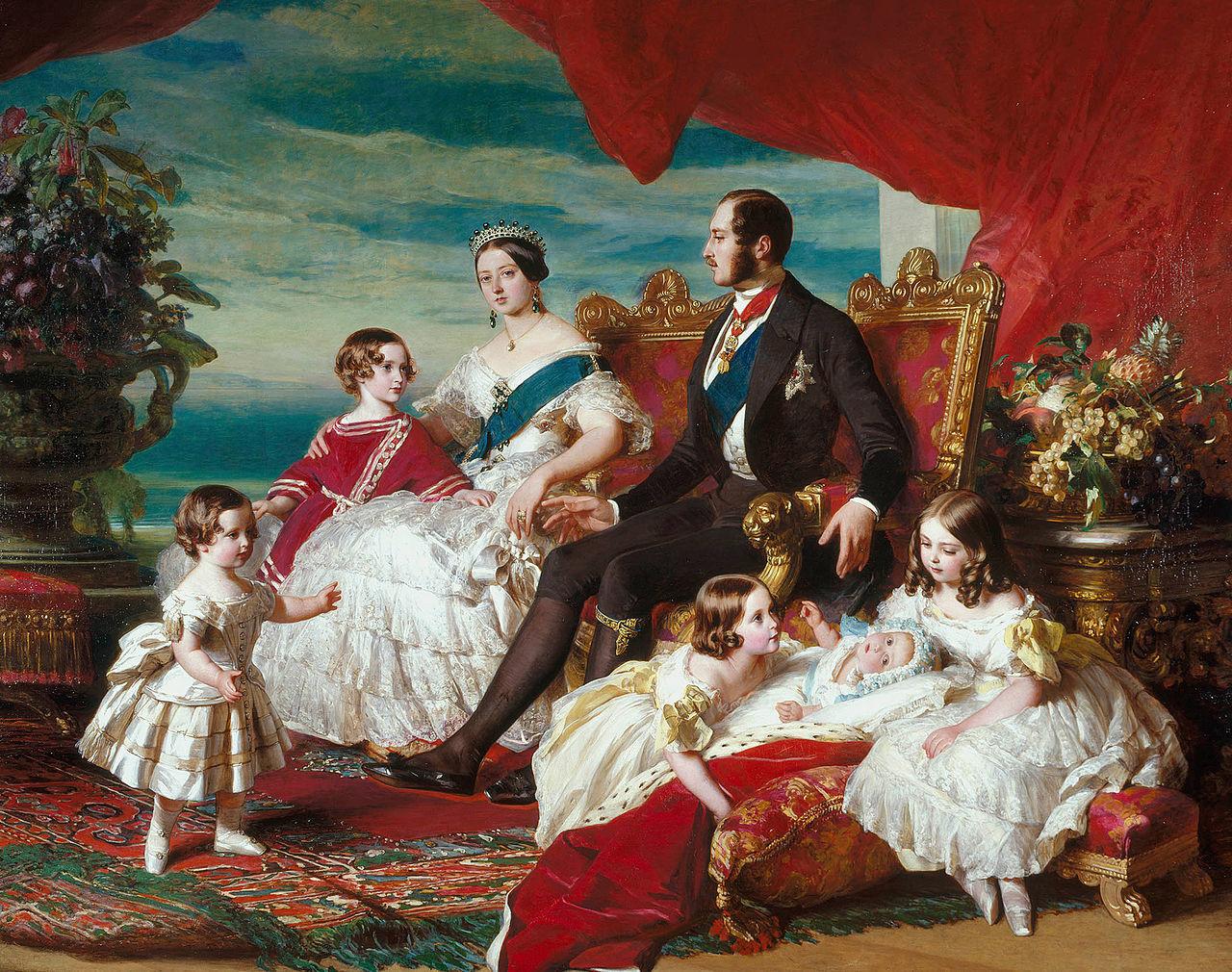 1846年1280px-Franz_Xaver_Winterhalter_Family_of_Queen_Victoria (1)