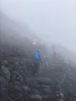 富士山九合目
