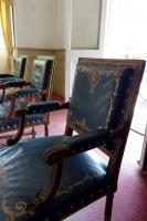 赤坂離宮の肘掛椅子