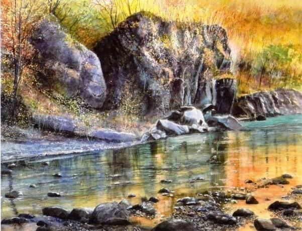 渓谷の輝き2