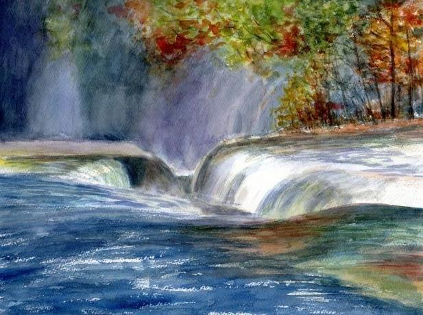 吹き割りの滝2