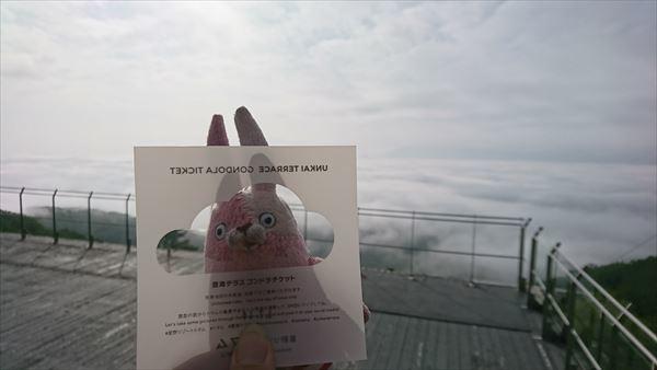 雲海ゴンドラチケット