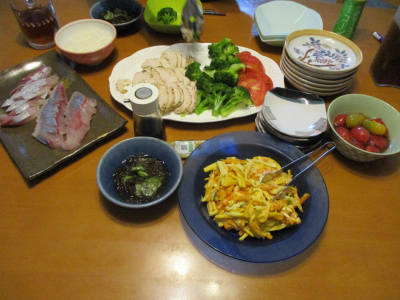 010709夕食