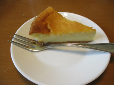 010803ののが作ったチーズケーキ1