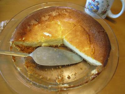 010803ののが作ったチーズケーキ2