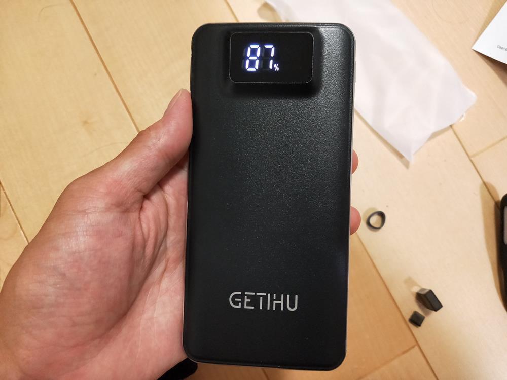 【レビュー】 GETIHU  モバイルバッテリBG-140 買いました
