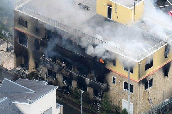 京アニ、火災で死者34人