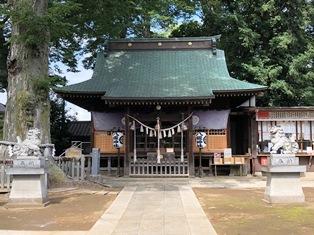 八坂神社(守谷市本町)