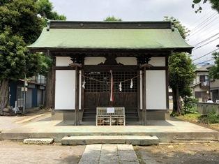 六所神社(市川市須和田)