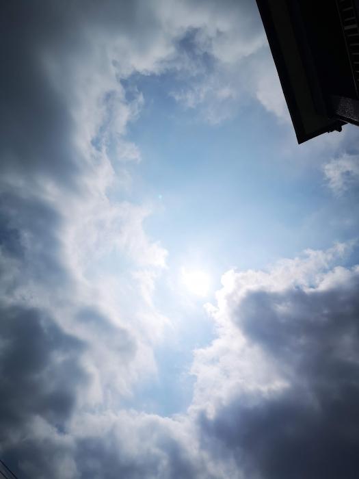午前中のお空