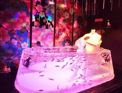 謎の金魚風呂