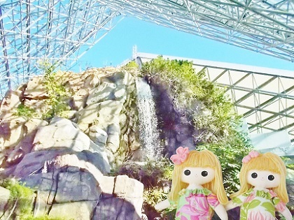 シーパラの滝