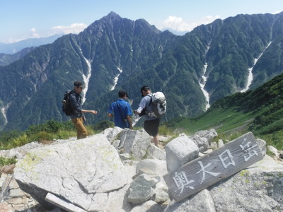 190816立山三山大日岳称名滝縦走 (14)