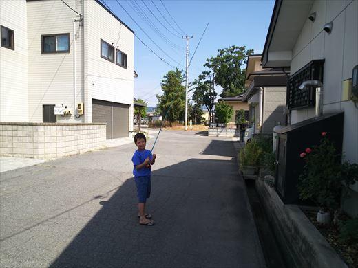 子供のお盆休み (1)