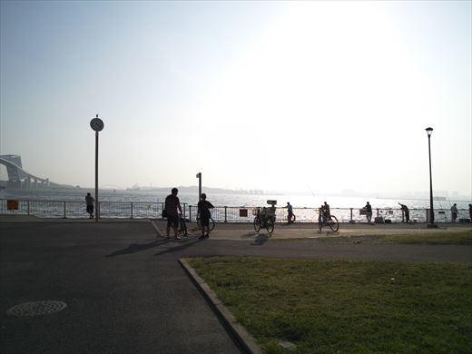 若洲海浜公園釣り (7)