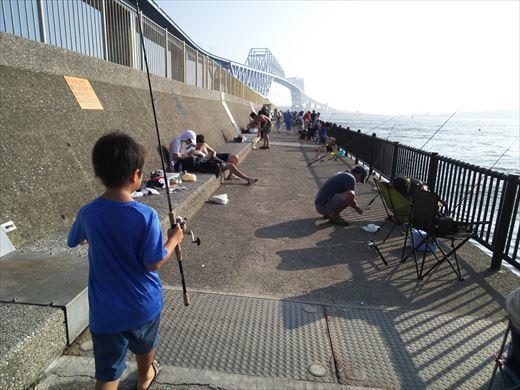 若洲海浜公園釣り (8)