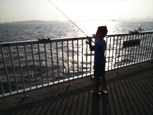 若洲海浜公園釣り (12)
