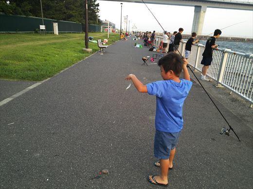 若洲海浜公園釣り (19)