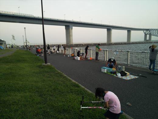 若洲海浜公園釣り (23)