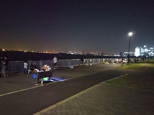 若洲海浜公園釣り (27)