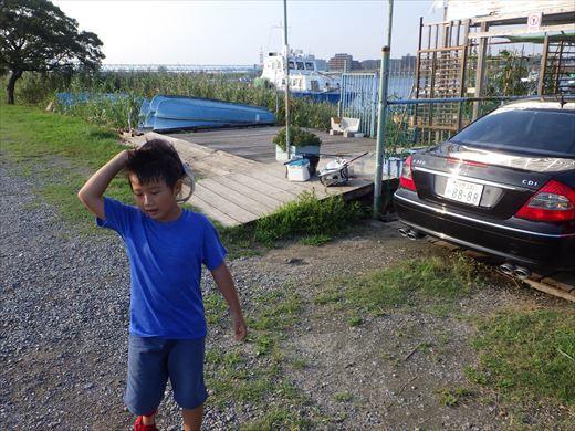 江戸川放水路でハゼ釣り? (31)