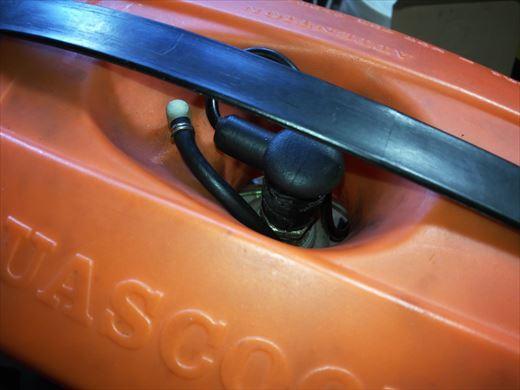 アクアスクーターのキャブ交換 (40)