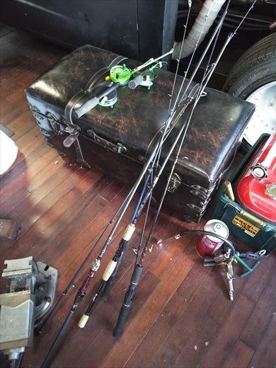 釣り準備 (1)