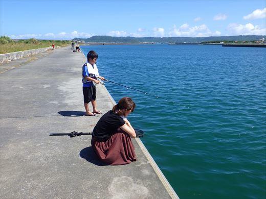 沖縄で釣って食べる! (2)