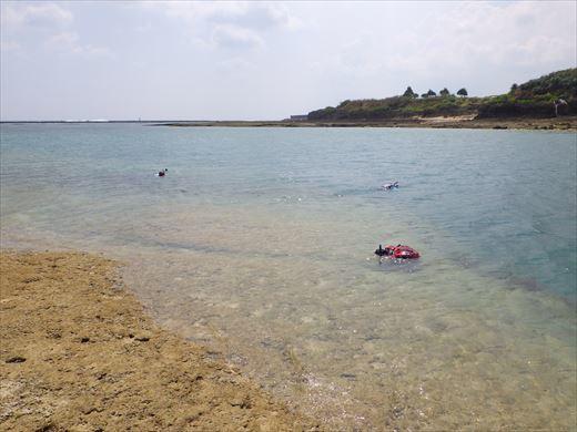 奥武島で泳ぎ釣り (6)